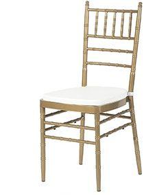 krzesło weselne CHIAVARI DARK GOLD