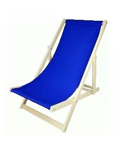 Leżak WOOD BLUE
