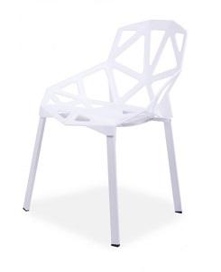 Krzesło GEOMETRIC WHITE